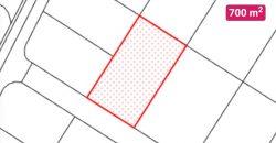 ALLE, s.r.o.: Pozemok na predaj 700 m2 za 39 000,- EUR