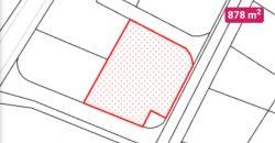 ALLE, s.r.o.: Stavebný pozemok 878 m2 na predaj 50 000,- EUR